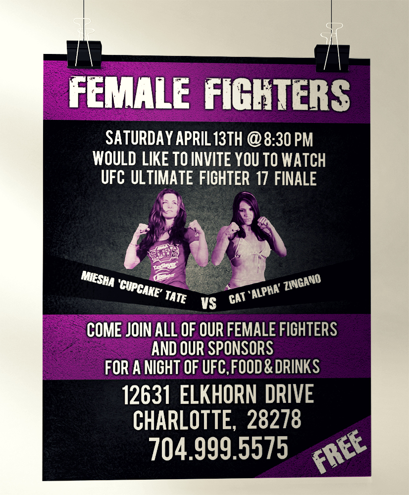 Female Fighters Poster